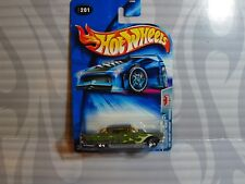 2004 HOT WHEELS ''PRIDE RIDES'' #201 = 1957 CADILLAC ELDORADO = GREEN ,  0714C
