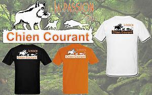 T-shirt HOMME LA PASSION DU CHIEN COURANT 2