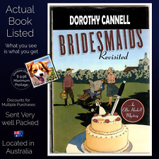 Bridesmaids Revisited A Large Print Mystery Dorothy Cannell Hardcover USA Print