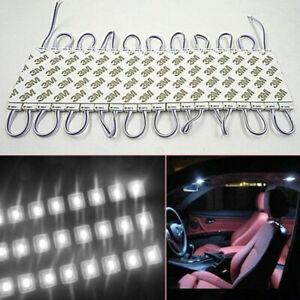 Universal 20Pcs 3 LED Car Pickup Bed Cargo Area LED Light Interior Reading Light