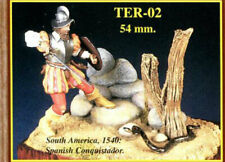 "EMI 54mm metal kit ""Spanish Conquistador, South America"" NO BOX! No Base! RARE!"
