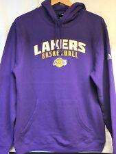 LA Lakers Purple Long Sleeve Sweatshirt, Pullover and Hoodie Athletic Men's  2XL