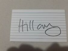 More details for hillary clinton and joe biden double signed index card would look great slabbed