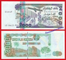 ARGELIA ALGERIA 2000 Dinares dinars 2011 Pick 144 SC / UNC