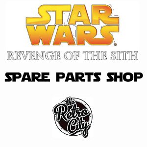 Vtg Star Wars ROTS Revenge Of The Sith Spare Figure Parts Accessories & Weapons