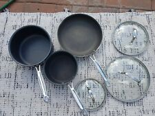 Cuisinart 3-Piece Saucepan And Skillet Set