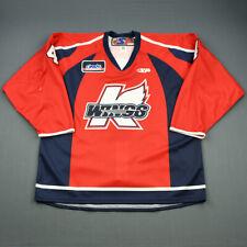 2009-10 Blake Friesen Kalamazoo Wings Game Used Worn ECHL Hockey Jersey! MeiGray