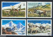 Falkland Isl. Dependencies 1982, Reindeer animals set, Sc 1L62-65 MNH