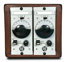 Vintage Pye audio mic pre's racked by POM Audio - from Clean to Crunch to Fuzz