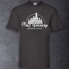 Malt Whiskey Shirt T-Shirt schwarz Funshirt Whisky 100% Cotton S-XXXXXL