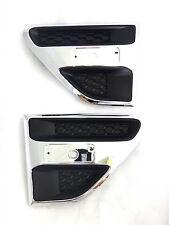 Set LH RH Chrome Side Vent Fender Trim Fits Ford Ranger T6 UTE 2012 2015 Genuine