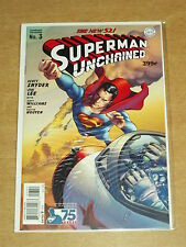 SUPERMAN UNCHAINED #3 VG (4.0) DC NEW 52 VARIANT COVER OCTOBER 2013 (B)