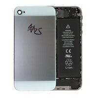 iPhone 4 4S Backcover Rückschale Gehäuse Akkudeckel Glas Original Weiß 5 Optik