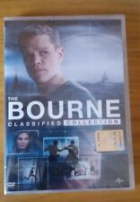 THE BOURNE CLASSIFIED COLLECTION COFANETTO 4 FILM IN DVD