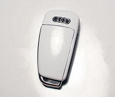 Audi TT 8j A4 S4 A3 S3 R8 q7 A1 A2 8P S white key sticker