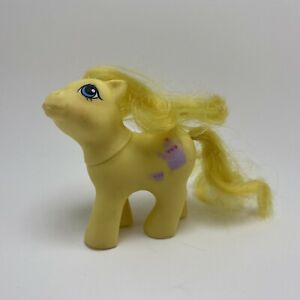 1987 G1 My Little Pony Baby CRUMPET Yellow First Tooth Teapot MLP Hasbro