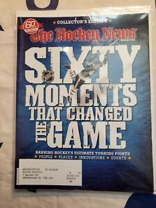 THE HOCKEY NEWS 60 Moments That Changed The Game Collector's Edition Bobby Orr