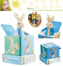 Peter Rabbit Muscial Jack in the Box Toddler-Child Fun Toy