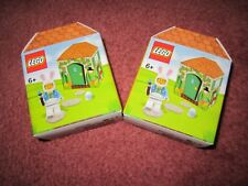 LEGO EASTER BUNNY SET OF 2 BOXES 5005249 - NEW/BOXED/SEALED