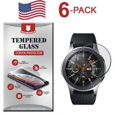 6-Pack Tempered Glass Film Screen Protector For Samsung Gear S3 Frontier Classic