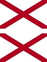 2x Adhesivo pegatina sticker bandera estados unidos americana usa alabama