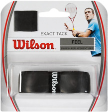 New listing Wilson Exact Tack Squash Replacement Grip , Black, One Size