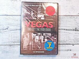 VEGAS - THE CITY THE MOB MADE - 2009 - New Sealed DVD - 2 Disc set - 10 Episodes