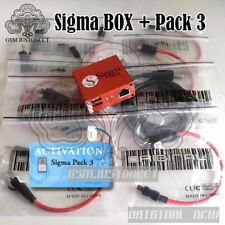 sigma box with pack3 actived +9 cables only for pack3 code