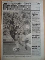FUWO 6- 7.2. 1989 3* Ulf Kirsten Bilanz 1.FC Magdeburg FC Karl-Marx-Stadt Prokop