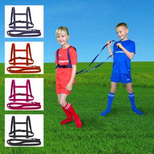 Pferdegeschirr Pferdeleine für Kinder Laufleine Laufgeschirr Nylon 4 Farben NEU