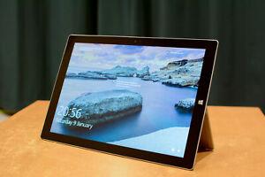 Microsoft Surface Pro 3 256GB, 8Gb, i5 tablet. Model 1631