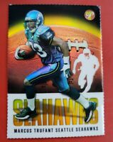 2003 Topps Pristine Football Gold Refractor #117 Marcus Trufant #11/75! Seahawks