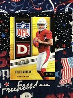 KYLER MURRAY ROOKIE 4/10 - 2019 PANINI (AWESOME PATCH CARD) PANINI DAY FOOTBALL