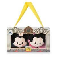 S Tanabata Japan import NEW Disney TSUM TSUM Plush doll Mickey /& Minnie