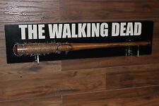THE WALKING DEAD Negan Lucille Bat Prop/Replica Wall Plaque Included REMOVEABLE