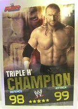 Slam Attax Evolution #005 Triple H Champion