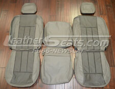2006 - 2008 Dodge Ram Quad Cab Custom Leather Trimmed Upholstery Seat Covers