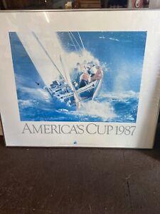 Vintage Old Transport Poster Yacht Scrap Print Art A4 A3 A2 A1