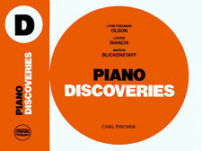 Piano Discoveries Book D (Music Pathways) (Sheet Music)