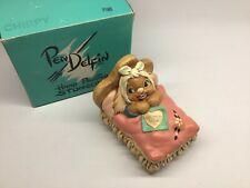 Pendelfin Rabbit Chirpy Figurine Hand Painted Made in England Original Box