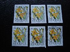 SUEDE - timbre yvert et tellier n° 1981 x6 obl (A29) stamp sweden (A)