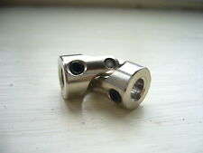 ROCK CRAWLER universal joint coupling 5mm to 5mm rc model car  SCX10 etc G15