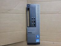 Dell  Front Bezel Gray Black Optiplex 990 SFF Face Plate Panel