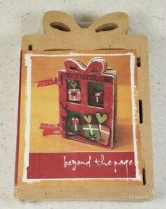Kaiser Craft Beyond the Page Mini Gift Album Christmas Craft SB2007 New