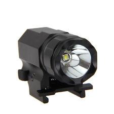 1600LM CREE R5 LED tattico pistola fucile flashlight torcia Rail monte caccia