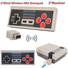 2XWireless Jeux Manette Controller Pou Nintendo NES Mini Classic Edition Console