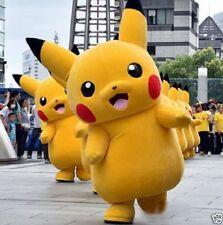 Brand Halloween Party Pokemon Go Cosplay game Pikachu Adult Mascot Costume