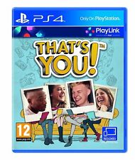 Ps4 juego that's You! playlink Game mercancía nueva