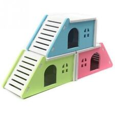 Wooden Small Pet Cage Nest Hedgehog Guinea Pig Hamster House Beds Nesters Castle