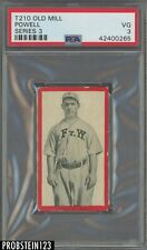 """T210 Old Mill Series 3 Powell PSA 3 VG """" POP 1/5 One Higher """""""